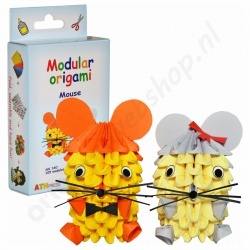 Modulaire Origami 3D Kit Muisjes