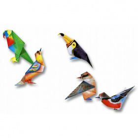 Origami Vogels Set