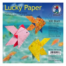 Origami Lucky Paper 15 x 15 cm